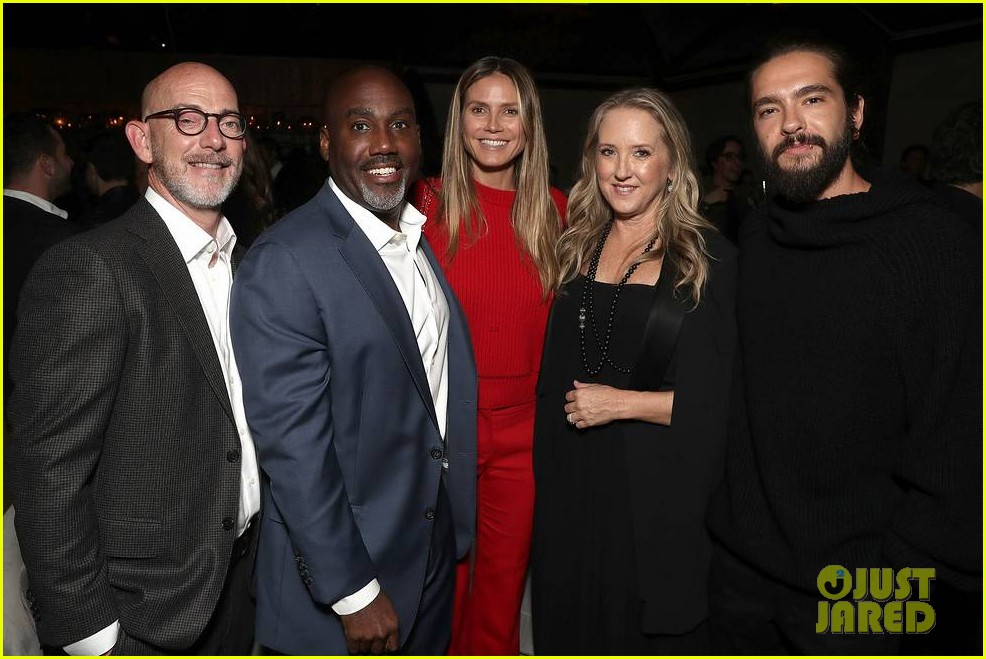 brad pitt timothee chalamet katy perry more get festive at amazon studios holiday party 264191918