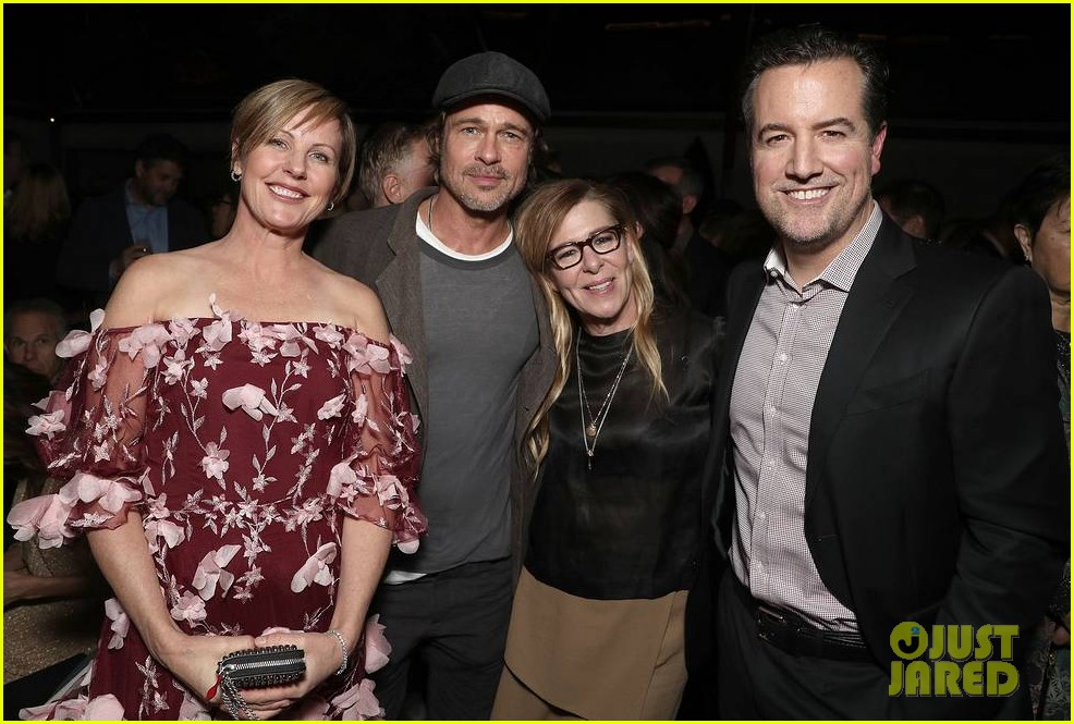 brad pitt timothee chalamet katy perry more get festive at amazon studios holiday party 304191922