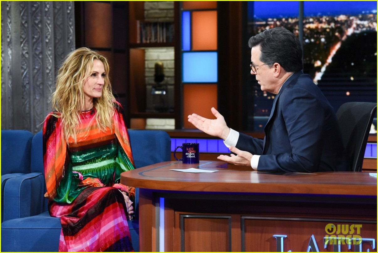 stephen colbert starts a julia roberts lucas hedges feud over turkey 03