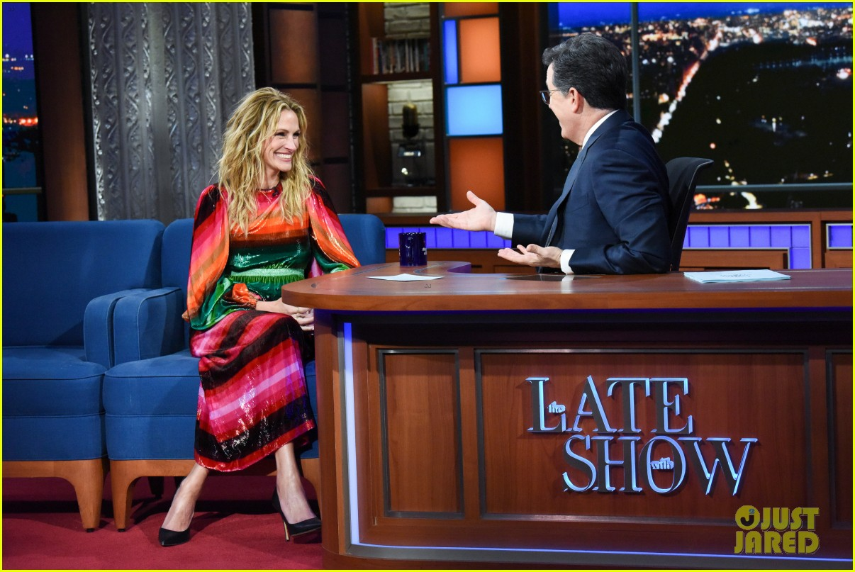 stephen colbert starts a julia roberts lucas hedges feud over turkey 04