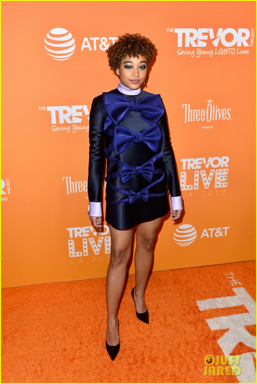 emma roberts cobie smulders james van der beek support trevor project at trevorlive 044192000