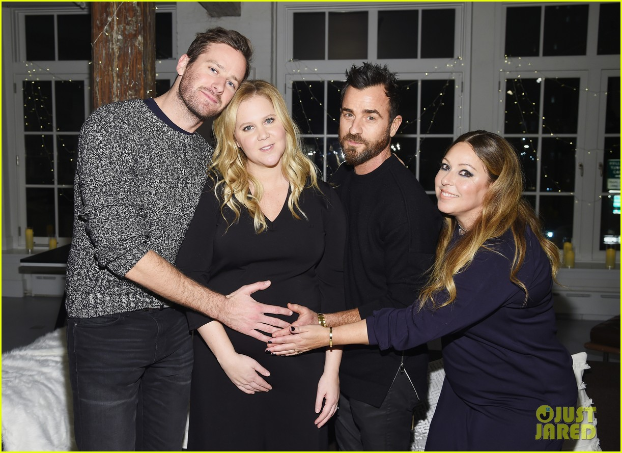amy schumer gets support from armie hammer justin theroux at le cloud collection launch 014198260