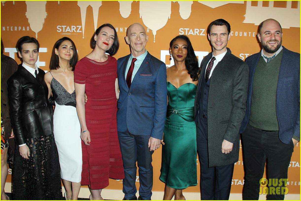 j k simmons counterpart cast celebrate season two premiere 054192745