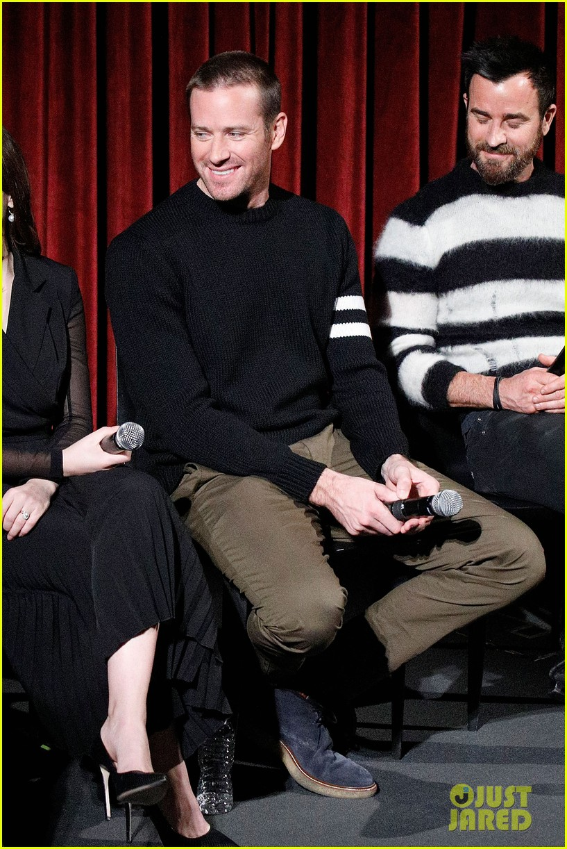 justin thereoux felicity jones armie hammer on the basis of sex screening academy 13