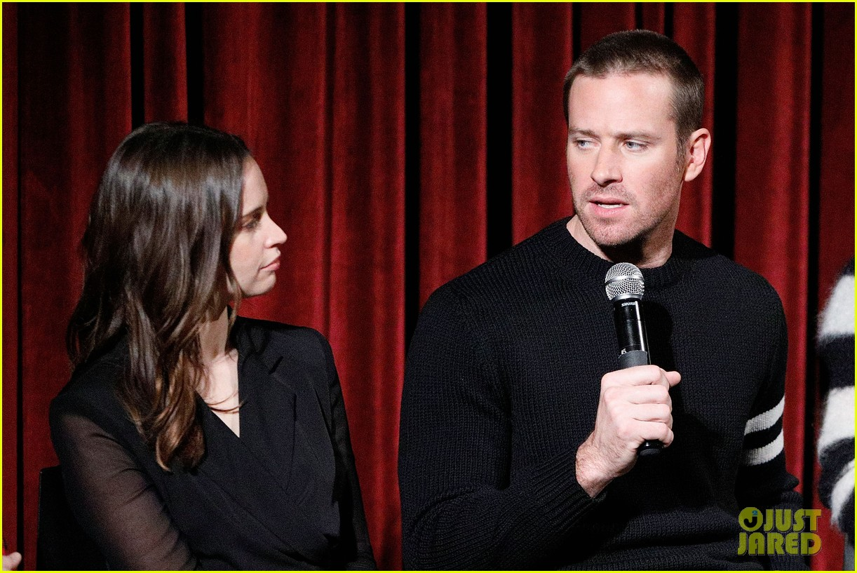 justin thereoux felicity jones armie hammer on the basis of sex screening academy 16