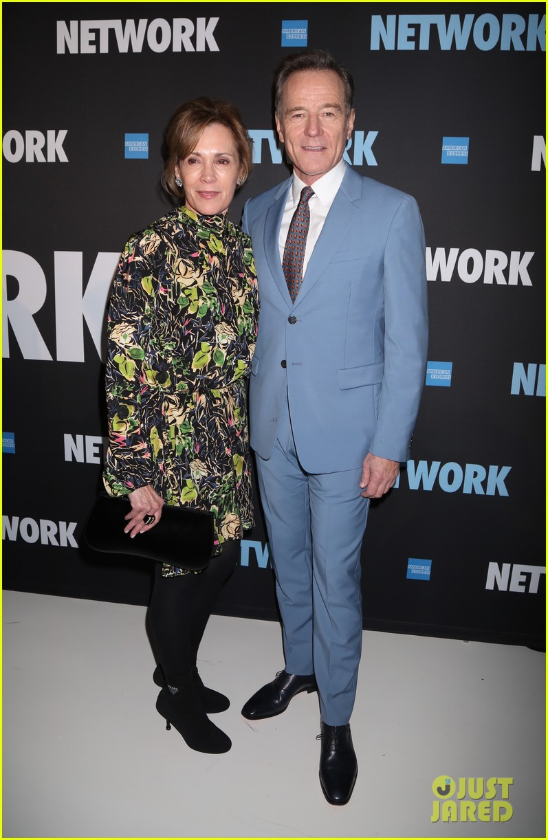 tony goldwyn tatiana maslany bryan cranston step out for opening night of network 05