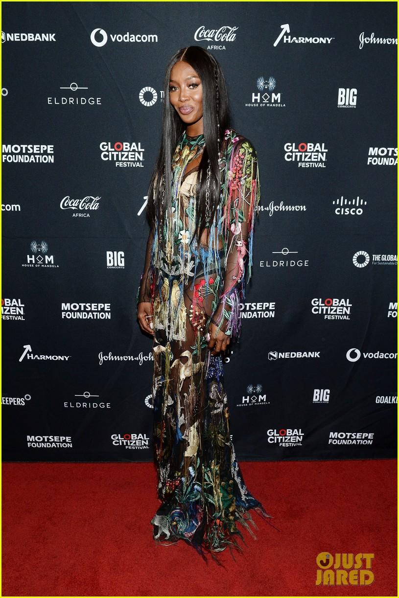 Usher Goes Shirtless At Global Citizen Festival Mandela 100