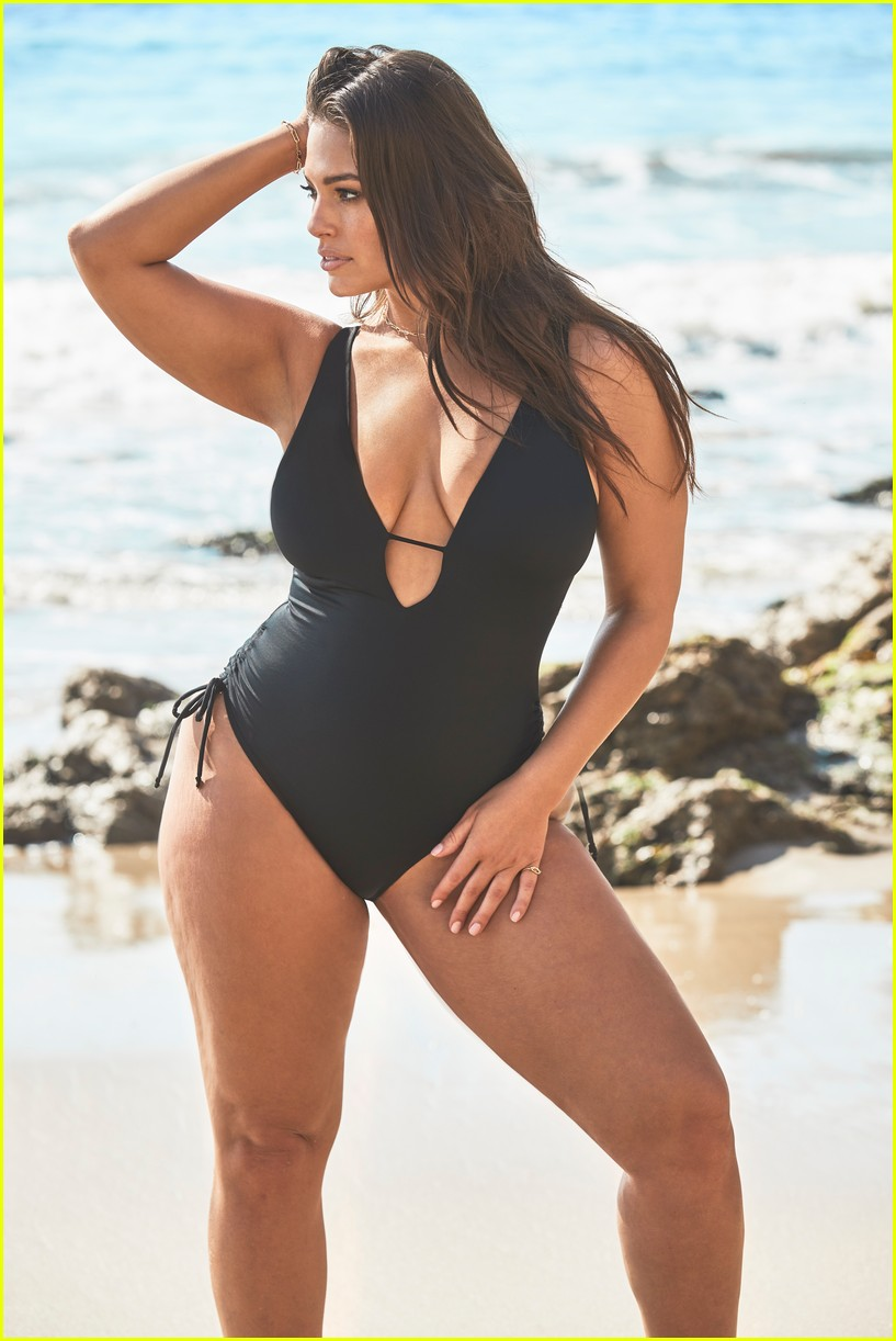ashley graham relaunches swimsuits for all essentials collection 14