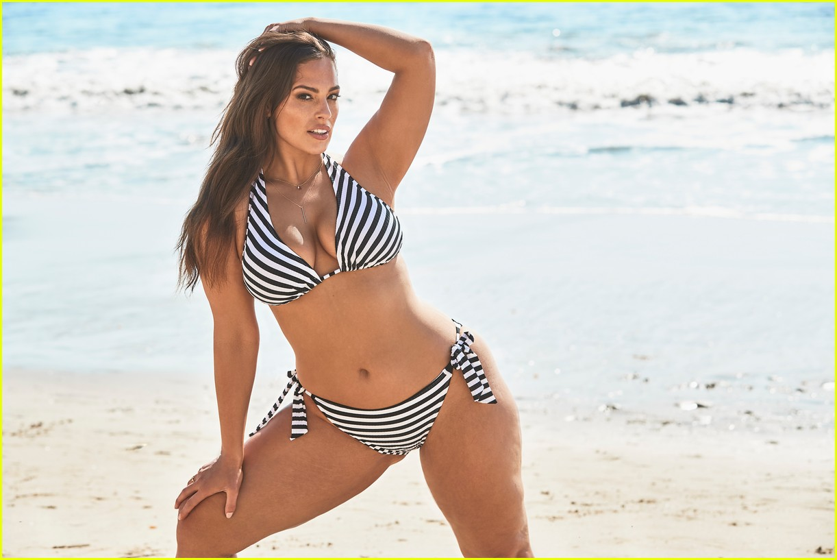 ashley graham relaunches swimsuits for all essentials collection 17