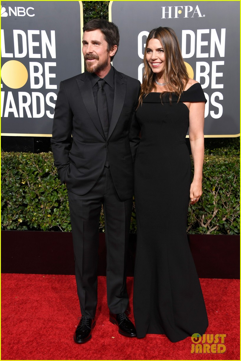 christian bale is supported by wife sibi golden globes 044207105
