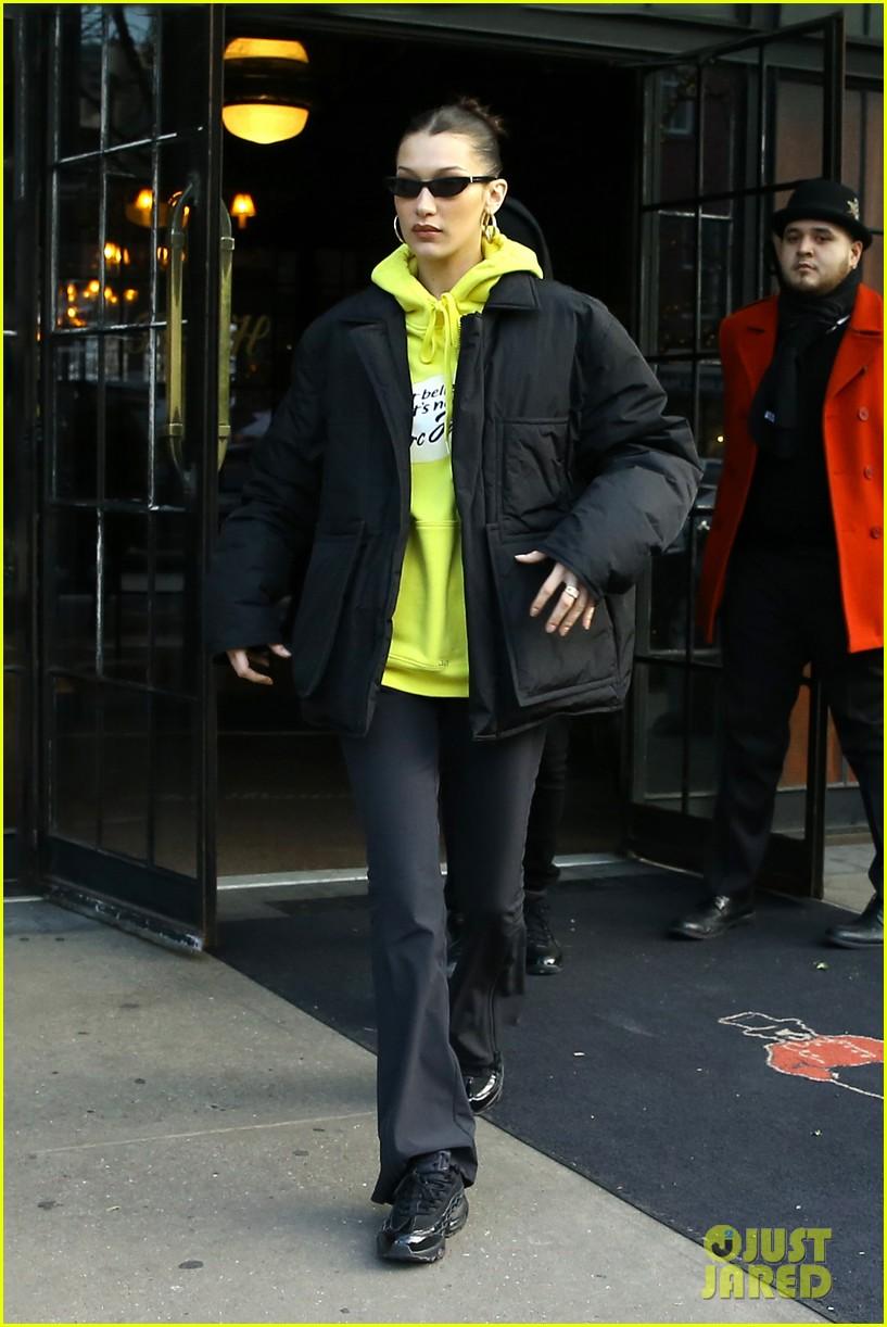 bella hadid the weeknd filming new york city 03
