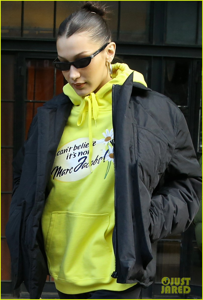 bella hadid the weeknd filming new york city 04