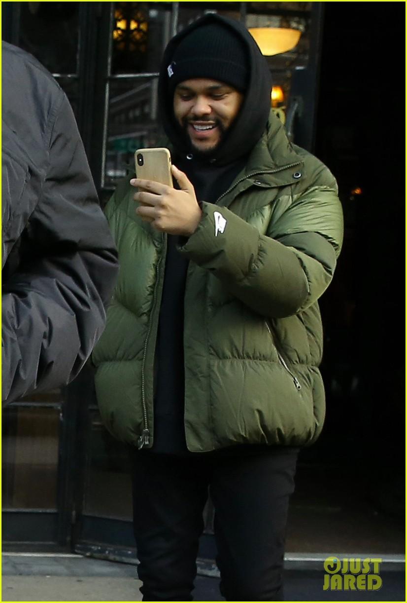 bella hadid the weeknd filming new york city 06