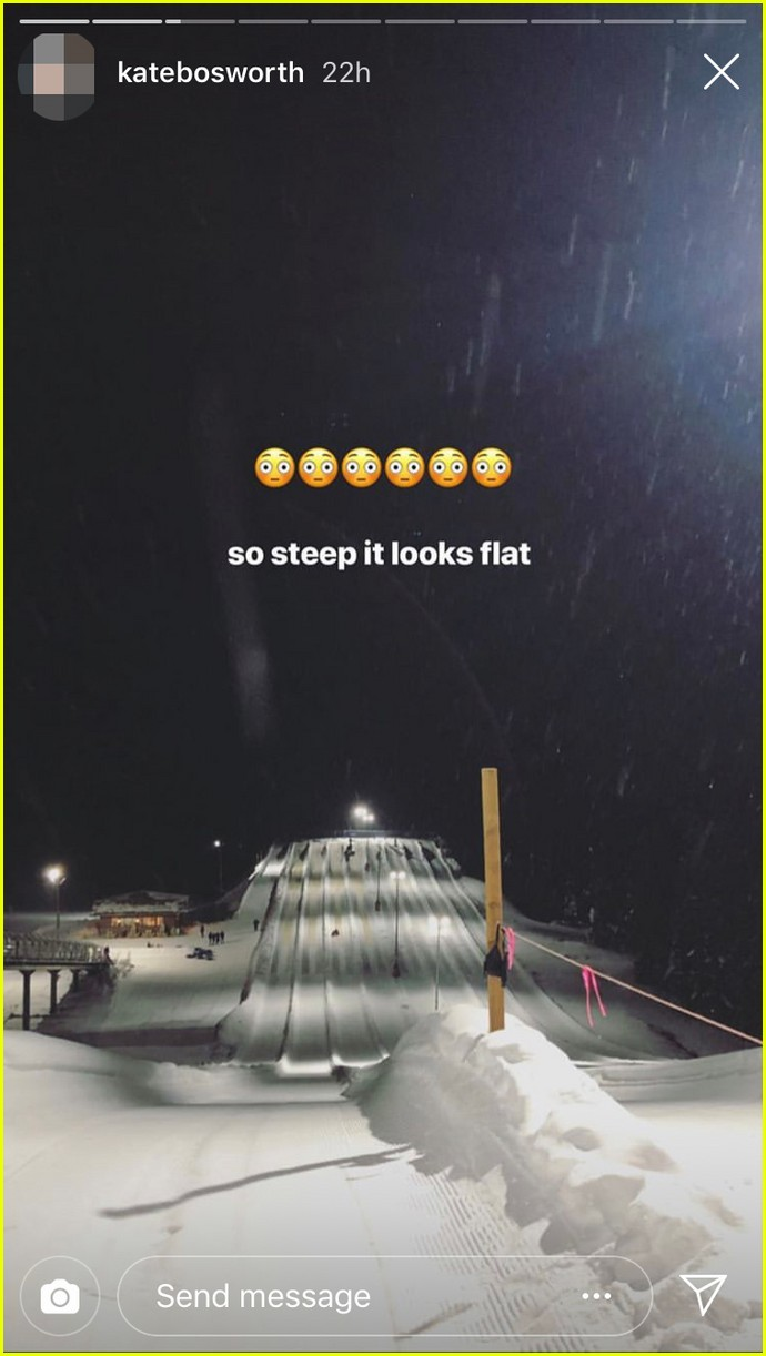 kate bosworth and michael polish go snow tubing for her 36th birthday 03