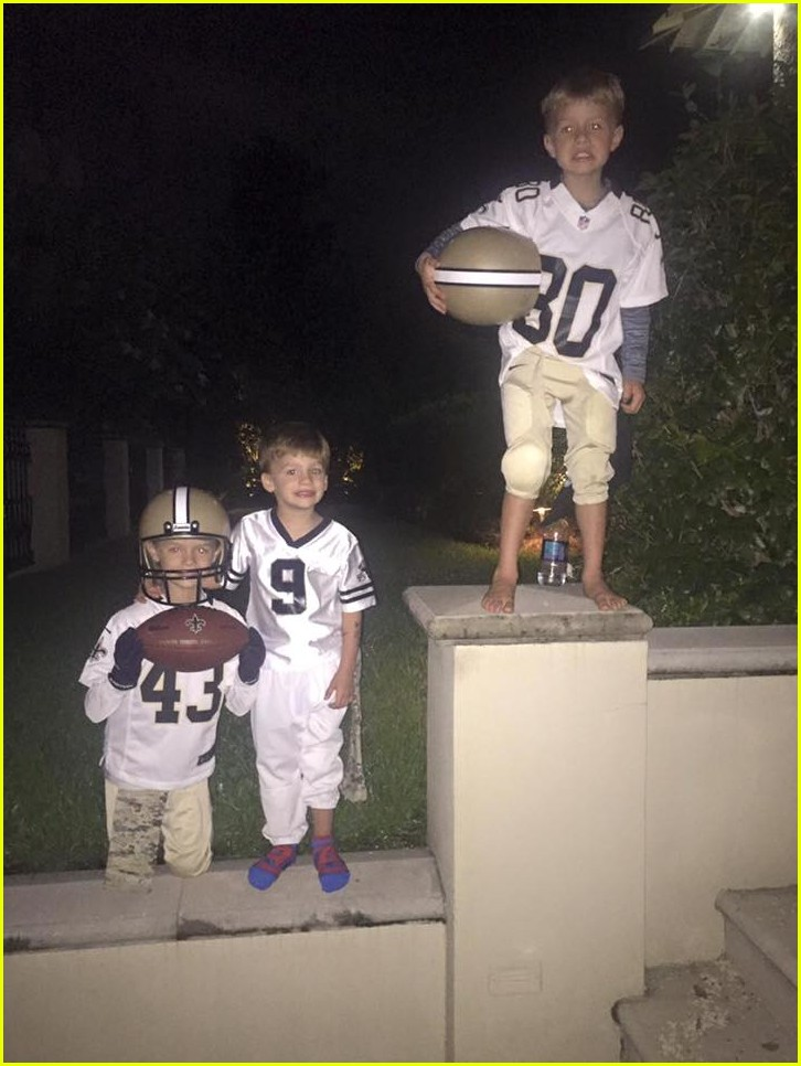 Drew Brees  Kids Are Adorable – See Cute Family Photos!  Photo ... f386d60e6