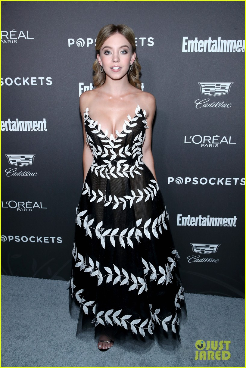 sophia bush joins laverne cox angela bassett at ew pre sag awards party 084217357