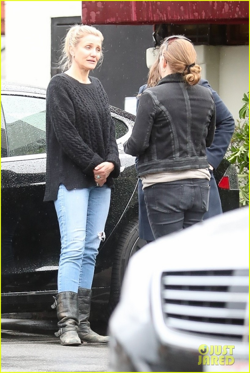 Cameron Diaz Enjoys Lunch With Friends in Beverly Hills: Photo 4213125 | Cameron Diaz ...