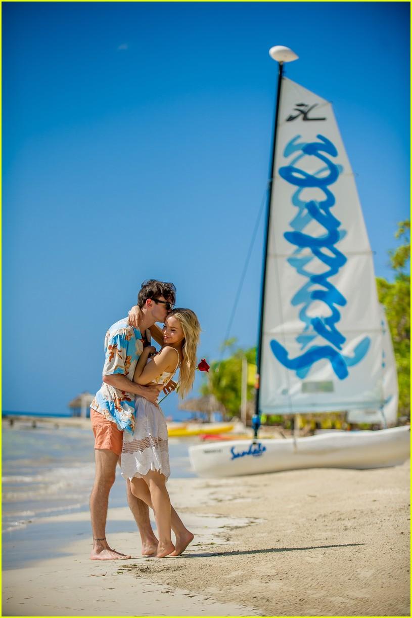 Dove Cameron Takes A Trip To Jamaica With Boyfriend Thomas