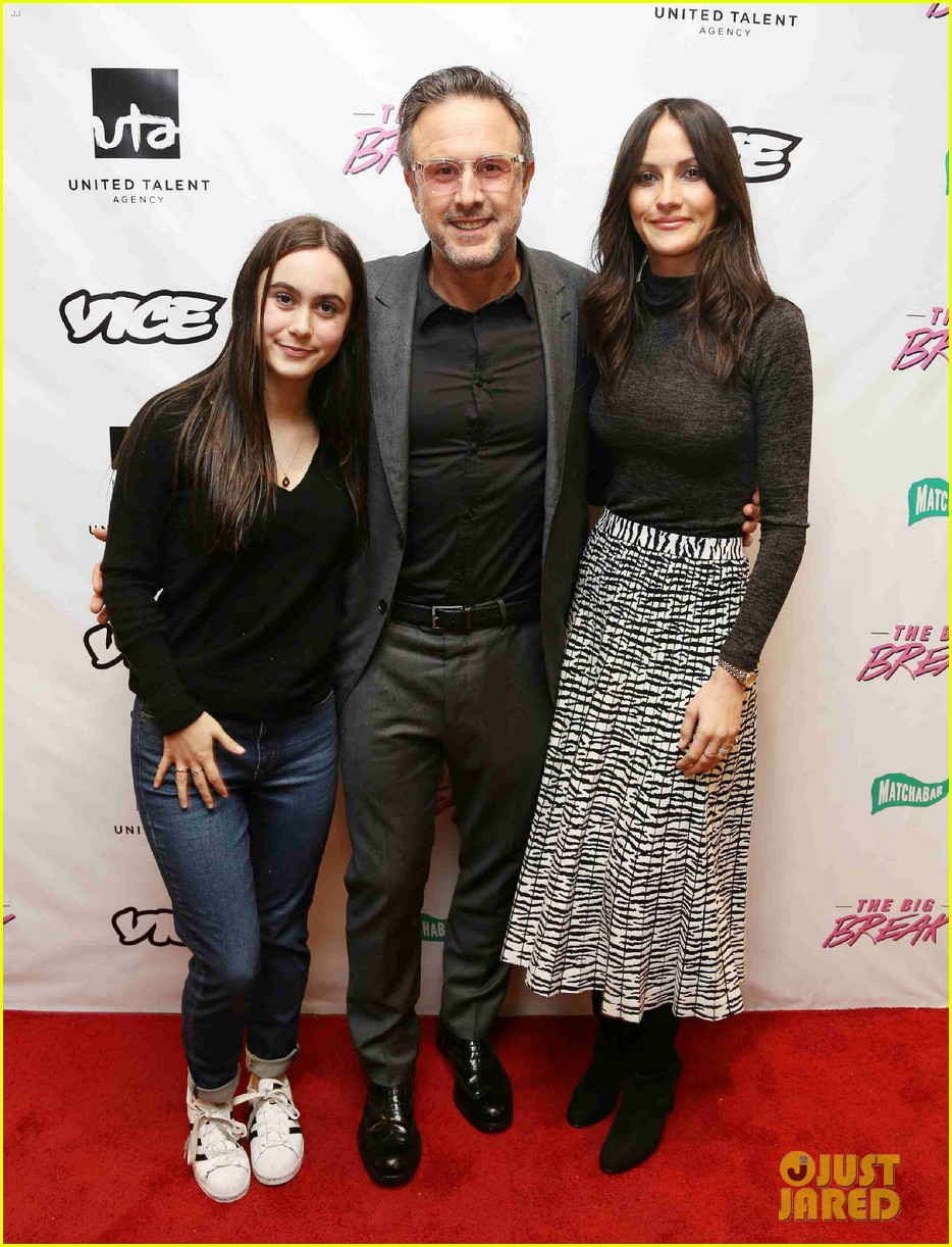 david arquette joined b daughter coco wife christina mclarty big break screening 024212822