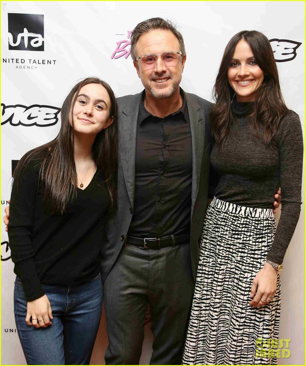 david arquette joined b daughter coco wife christina mclarty big break screening 054212825