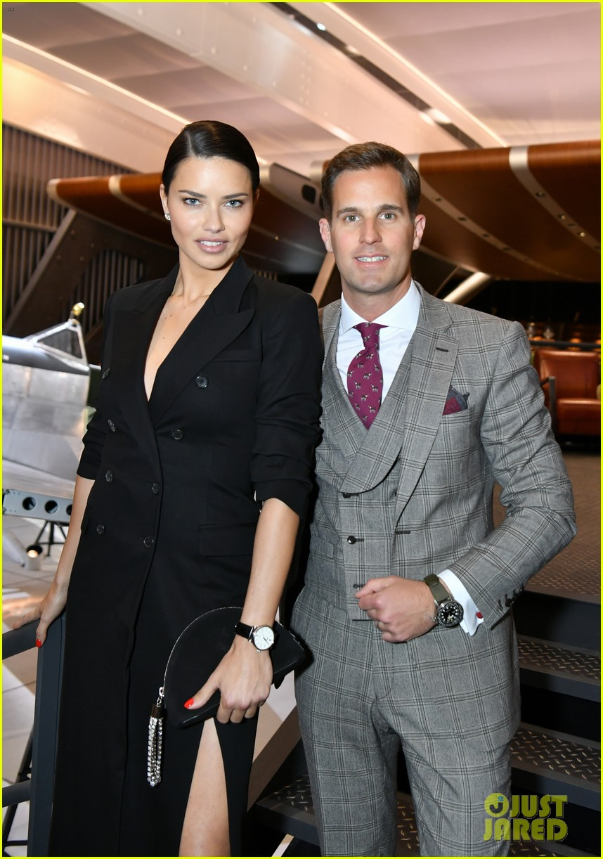 bradley cooper adriana lima celebrate pilots watches at iwc schaffhausen gala 2019 01