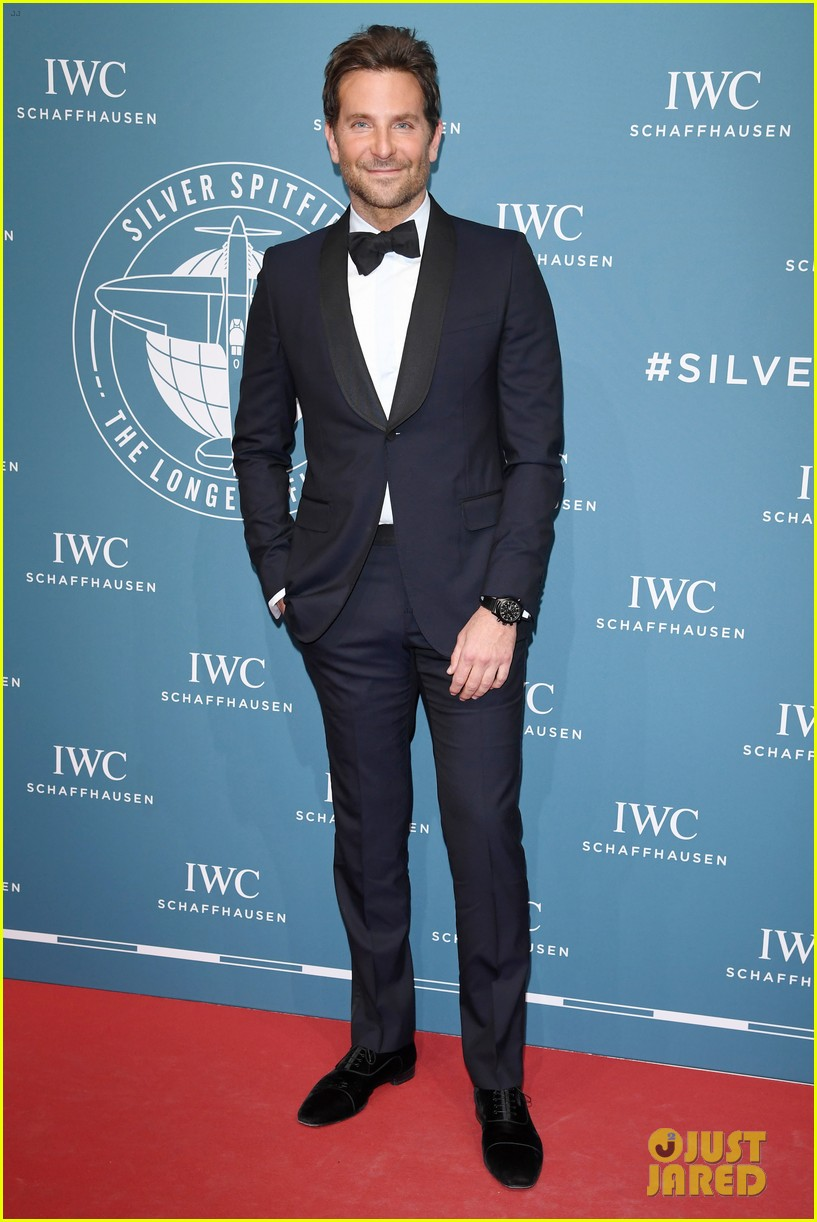 bradley cooper adriana lima celebrate pilots watches at iwc schaffhausen gala 2019 02