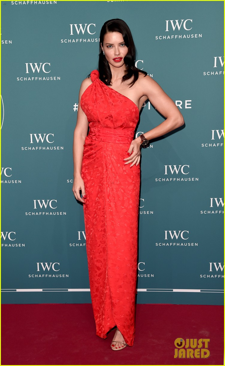 bradley cooper adriana lima celebrate pilots watches at iwc schaffhausen gala 2019 04