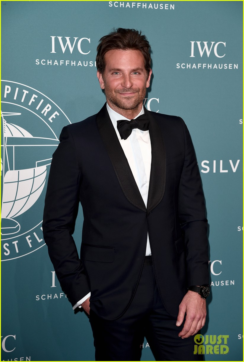 bradley cooper adriana lima celebrate pilots watches at iwc schaffhausen gala 2019 05
