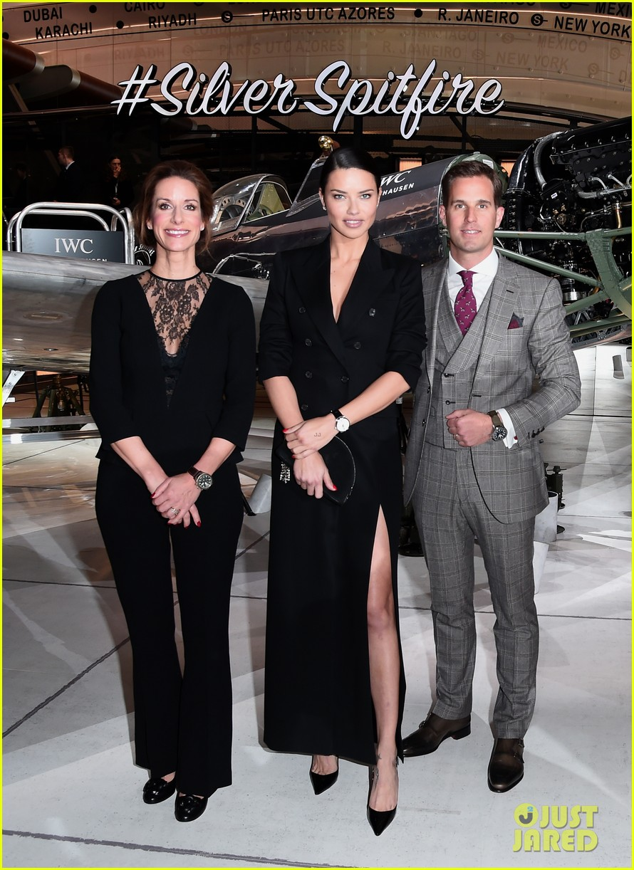 bradley cooper adriana lima celebrate pilots watches at iwc schaffhausen gala 2019 06