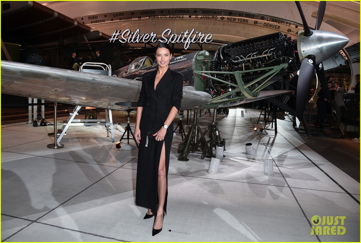 bradley cooper adriana lima celebrate pilots watches at iwc schaffhausen gala 2019 07