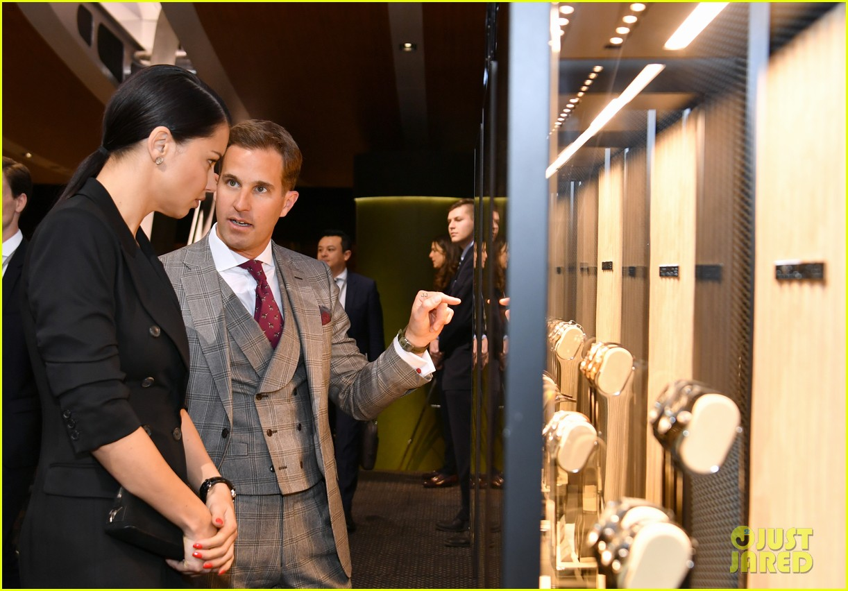 bradley cooper adriana lima celebrate pilots watches at iwc schaffhausen gala 2019 10