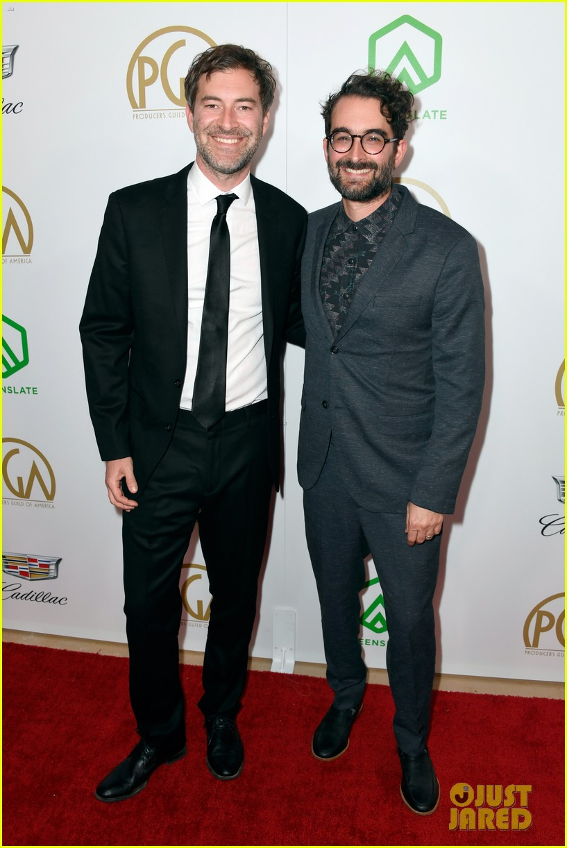 bradley cooper a star is born anthony ramos buddy up at producers guild awards 05