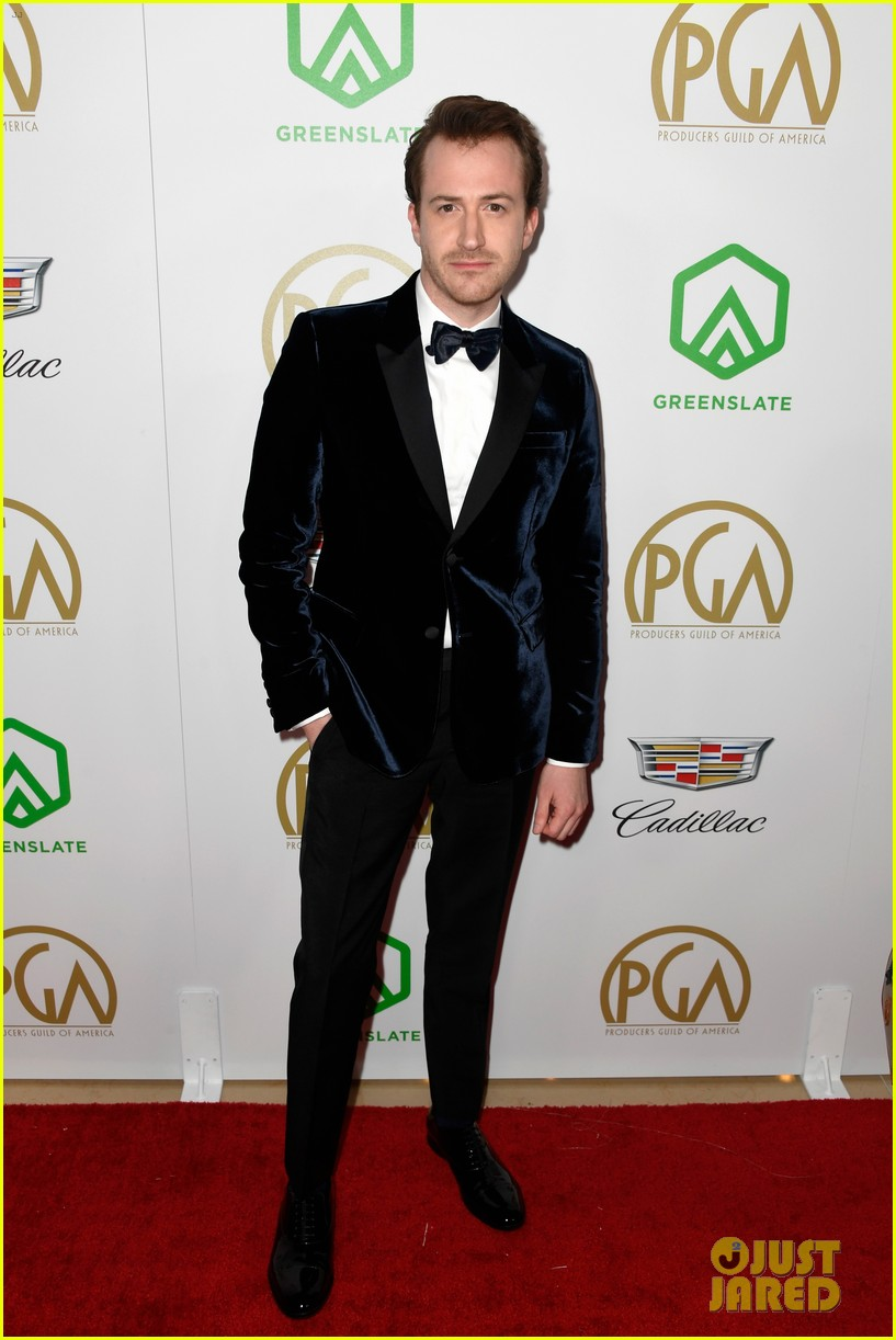 bradley cooper a star is born anthony ramos buddy up at producers guild awards 06