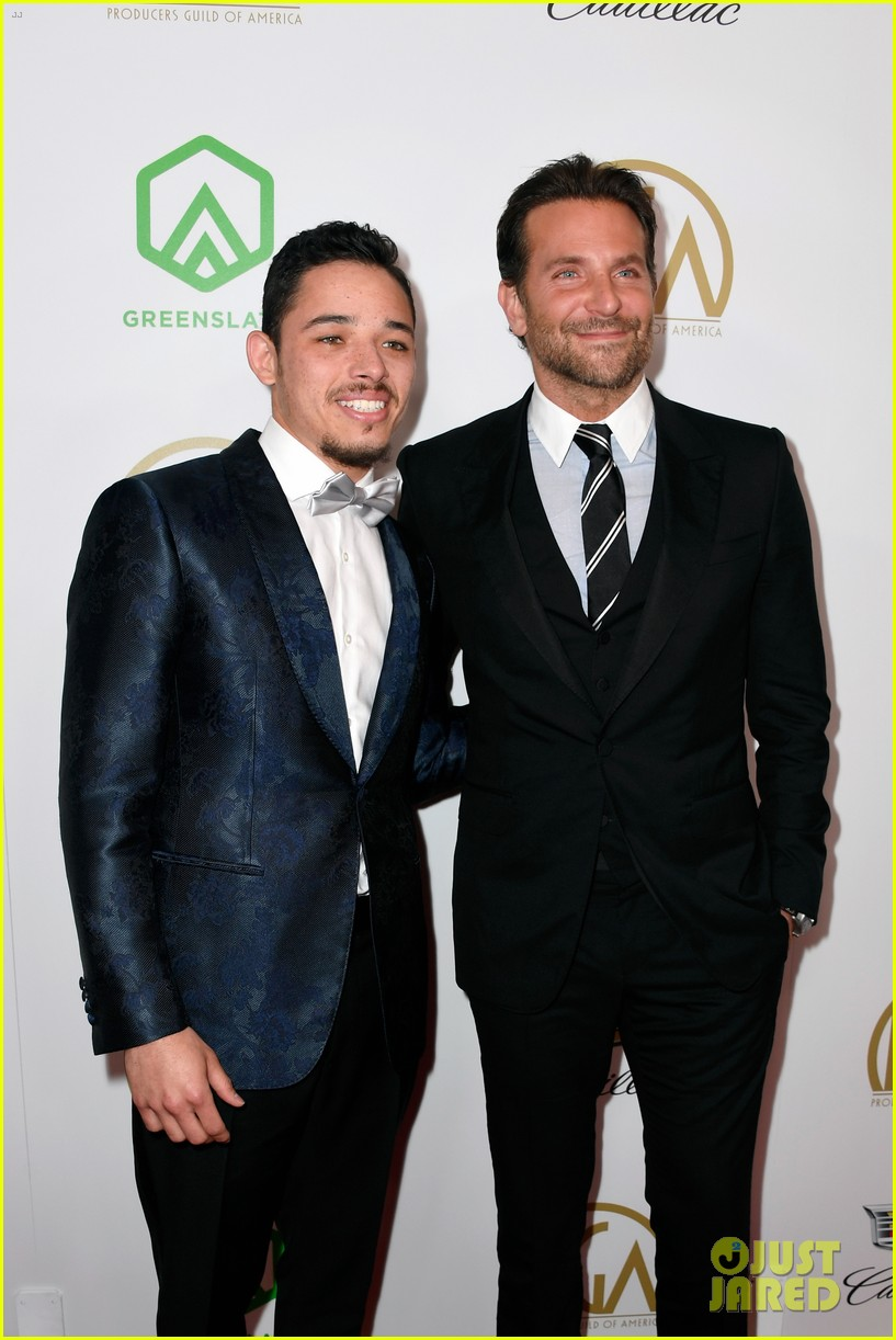 bradley cooper a star is born anthony ramos buddy up at producers guild awards 19