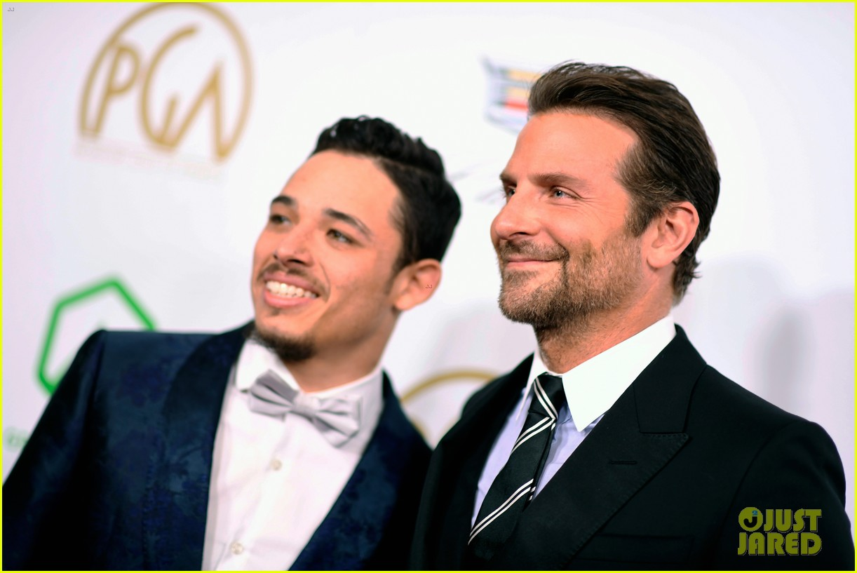 bradley cooper a star is born anthony ramos buddy up at producers guild awards 21