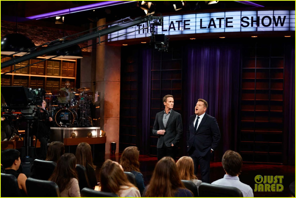 neil patrick harris steals james cordens audience qa on late late show 02