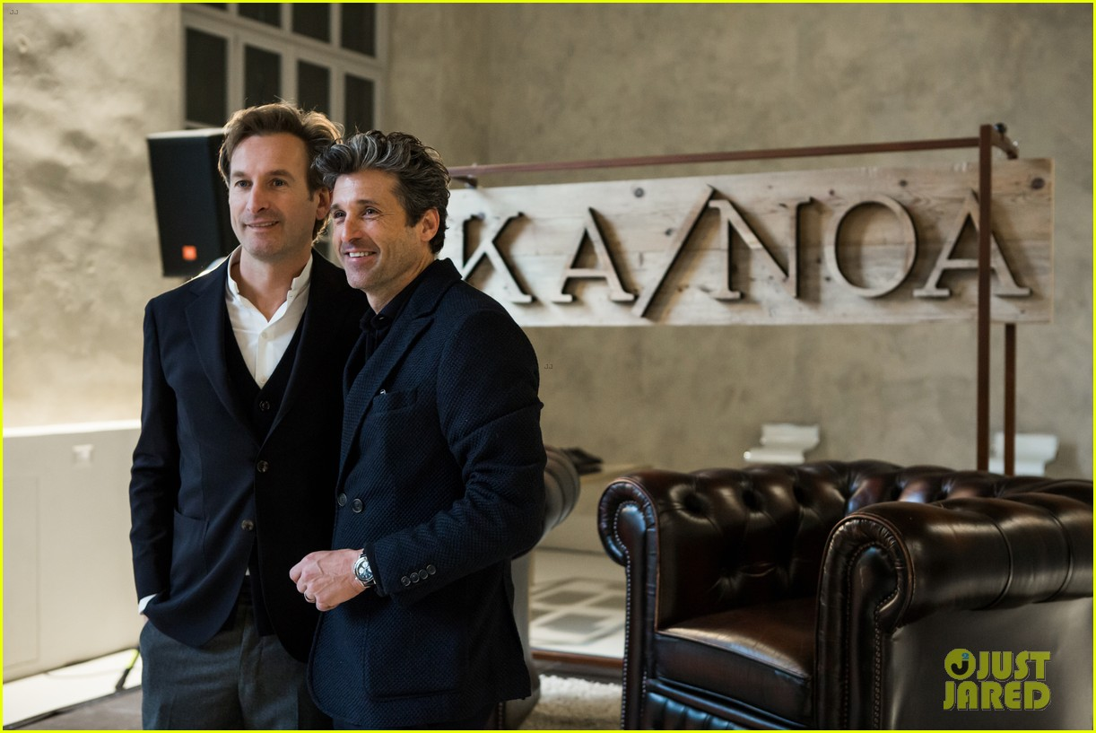 patrick dempsey launches business partnership with kanoa 09