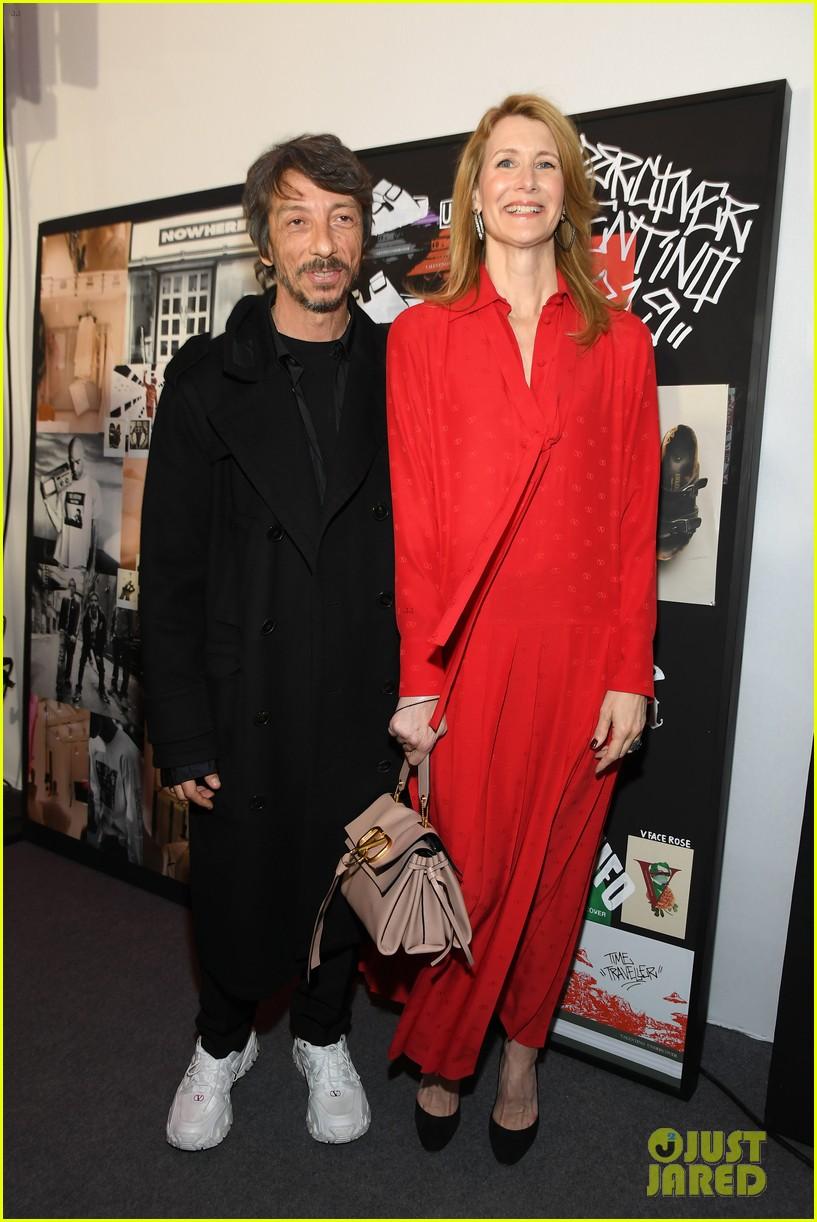 laura dern hits paris fashion week for valentino show 02