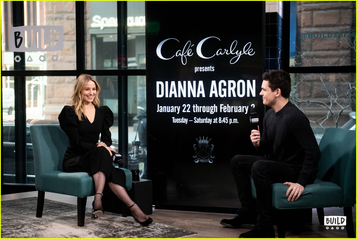 dianna agron build series january 2019 02