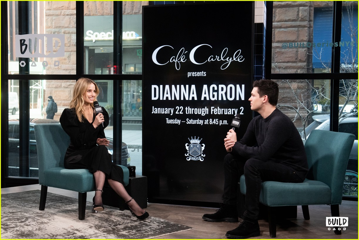 dianna agron build series january 2019 03