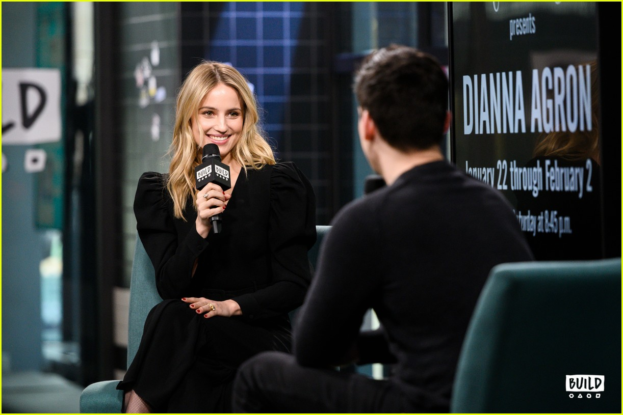 dianna agron build series january 2019 12