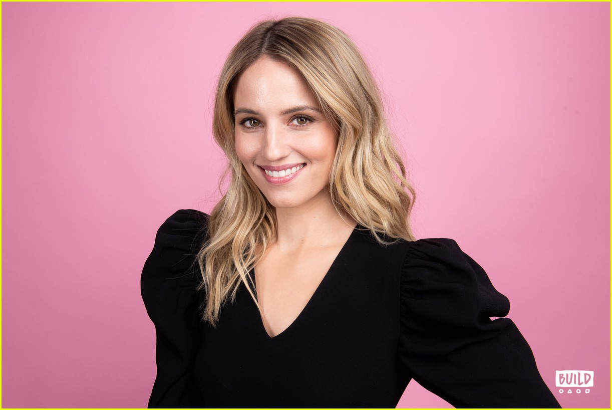 dianna agron build series january 2019 22