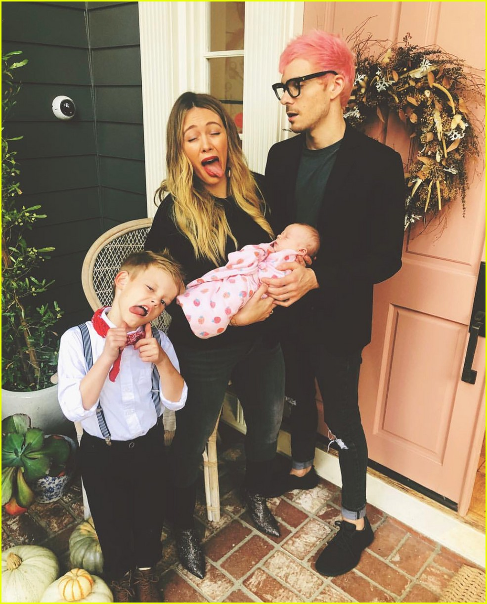 Hilary Duff Reveals Baby Banks Has Colic Reaches Out For