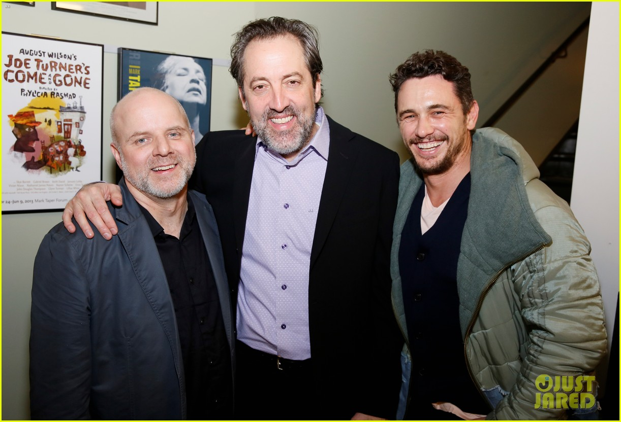 james franco steps out to support linda vista opening night 014213586
