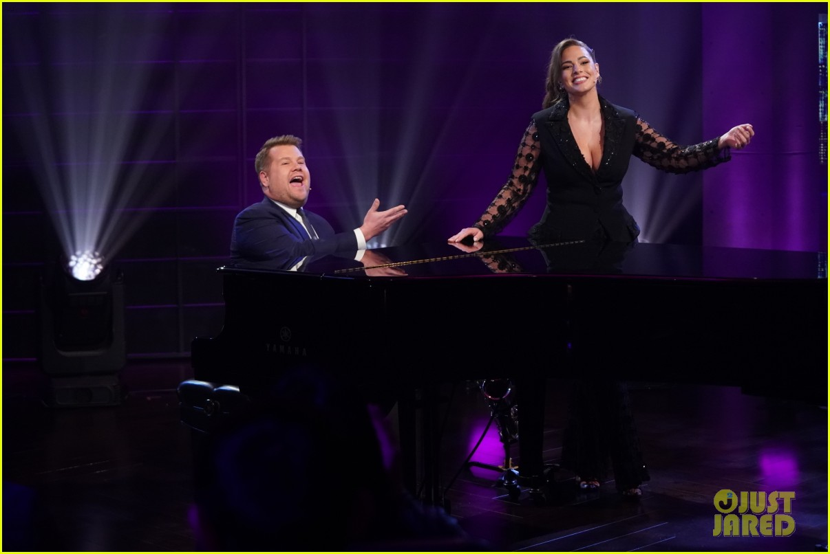 ashley graham joins james corden in epic duet about body positivity 04