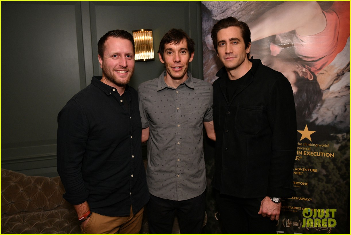 Jake Gyllenhaal Hosts Special NYC Screening of 'Free Solo ...