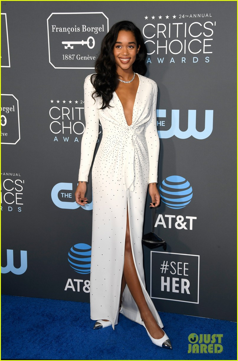 laura harrier critics choice awards 01