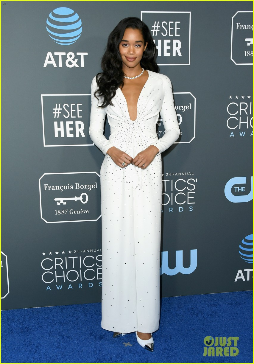 laura harrier critics choice awards 03