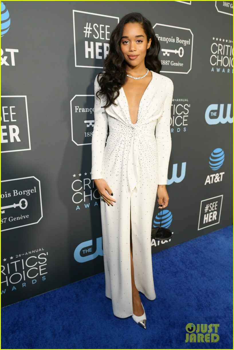 laura harrier critics choice awards 07