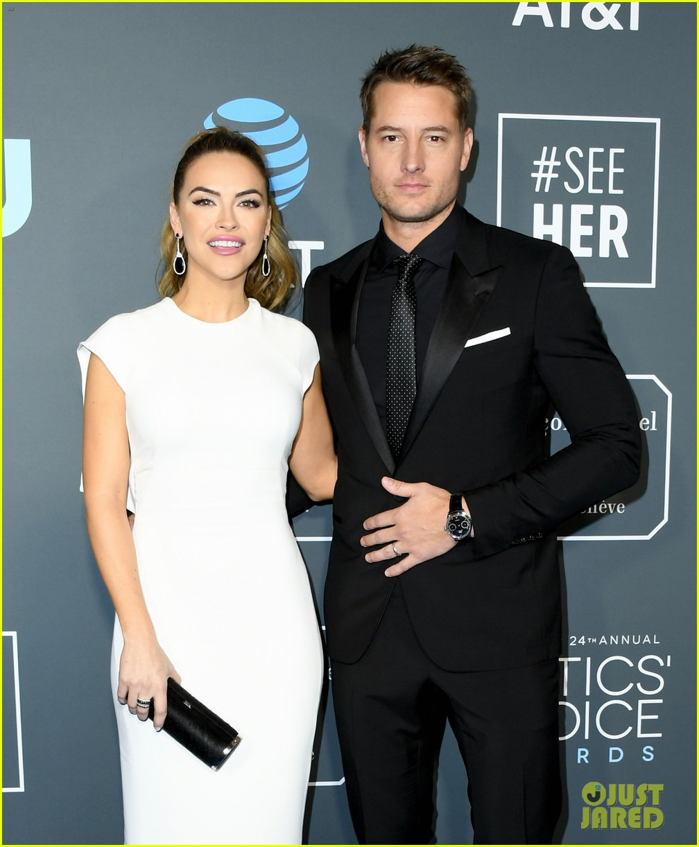 Justin Hartley Amp Wife Chrishell Hartley Walk The Critics